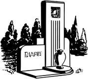 Tombstone 8 Stock Photo