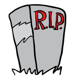 tombstone illustration libre de droits