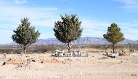 Tombstone, Arizona: Desert Cemetery stock photography