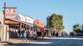Tombstone Arizona OK Corral Stock Photography