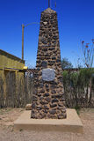 Tombstone, Arizona, USA, April 6, 2015, Boot Hill Cemetery, old western town home of Doc Holliday and Wyatt Earp and Gunfight at t Stock Photos