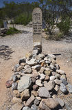 Tombstone, Arizona, USA, April 6, 2015, Boot Hill Cemetery, old western town home of Doc Holliday and Wyatt Earp and Gunfight at t Royalty Free Stock Images