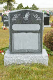 Tombstone in a Cemetery Royalty Free Stock Photo
