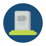 Tombstone flat Stock Images