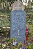 Tombstone in Hampstead Cemetery, London. LONDON, ENGLAND - JULY 12, 2016 Tombstone in Hampstead Cemetery, Grave of Goerge Juhn Wada Willet Stock Images