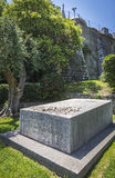 Tombstone of Henri Matisse and his wife Noellie, City of Nice, F Royalty Free Stock Image