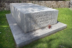 Tombstone of Henri Matisse and his wife Noellie Royalty Free Stock Photo
