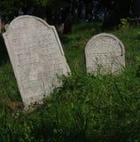 Tombstone jewish cemetery Stock Image