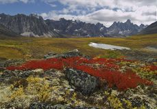 Tombstone Pass Yukon Territory Royalty Free Stock Photos