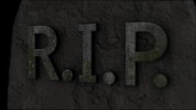 tombstone Resto nella pace morte illustrazione di stock