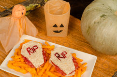Tombstone sandwiches Royalty Free Stock Photo