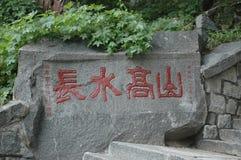 Tombstone. Text Royalty Free Stock Photo