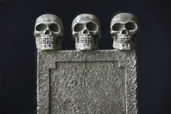 Tombstone Trio Stock Photography
