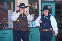 Tombstone Vigilante Days Stock Images