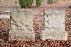 Tombstones Royalty Free Stock Images