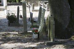 tombstones Fotografie Stock Libere da Diritti