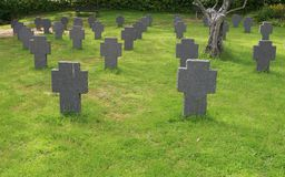 tombstones arkivbild