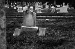 tombstones Royaltyfri Foto