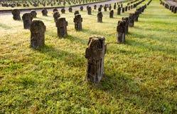 tombstones för addacrespi D Royaltyfria Bilder