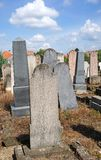 Tombstones in the jewish cemetery. G stock image