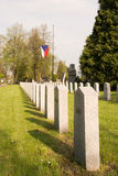 Tombstones in the memory Stock Image