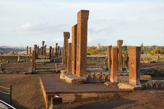Tombstones of seljuks in Ahlat Royalty Free Stock Photography