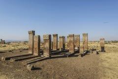 Tombstones of seljuks in Ahlat turkey Royalty Free Stock Image