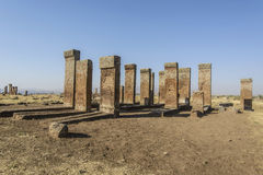 Tombstones of seljuks in Ahlat turkey Royalty Free Stock Photos