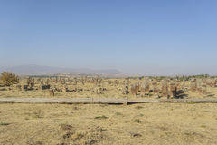 Tombstones of seljuks in Ahlat turkey Stock Image