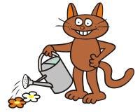 Tomcat - gardener Stock Image