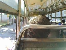 Tome el autobús público Fotografía de archivo