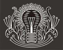Tome el cuidado de la electricidad ilustración del vector