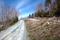 Tome el mejor camino o el camino bajo Fotografía de archivo libre de regalías