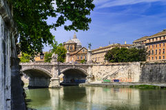 Tome, Italy, Vatican an the tiber Royalty Free Stock Photo