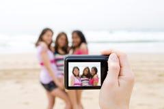 Tome la foto Imágenes de archivo libres de regalías