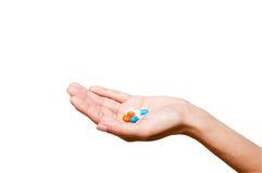 Tome la medicina Imagen de archivo libre de regalías