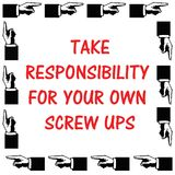 Tome la responsabilidad libre illustration