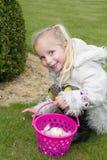 Tome los huevos de Pascua Foto de archivo libre de regalías