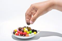 Tome o chocolate Imagens de Stock