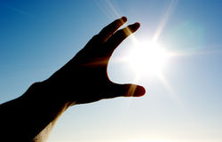 Tome o sol Foto de Stock Royalty Free