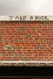 Tome un riesgo Fotografía de archivo libre de regalías