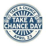 Tome un sello del día de la ocasión Imágenes de archivo libres de regalías