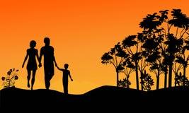 Tome una caminata Imagen de archivo libre de regalías