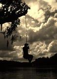 Tome una respiración profunda Imagen de archivo