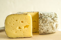 Tomette des Alpes, cheese of France Royalty Free Stock Image