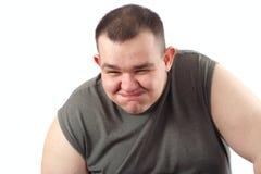 Tomfooleries van de mens Stock Foto