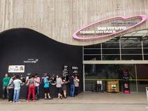 Tomie Ohtake Institute à Sao Paulo, Brésil Expositions d'art et centre culturel image stock