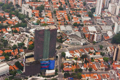 Tomie Othake Building in Sao Paulo Stock Image