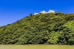 Tomioka Castle on the hill in Amakusa, Kumamoto, Japan. Tomioka Castle on the hill in Amakusa, Kumamoto, Japan royalty free stock photo