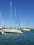 Tomis harbor Royalty Free Stock Images